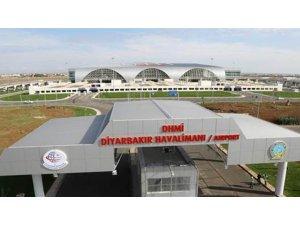 Diyarbakır Havalimanı Haziranda 165 bin 25 yolcuya hizmet verdi