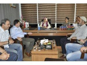 AK Parti Diyarbakır Teşkilatından Sider'e Ziyaret