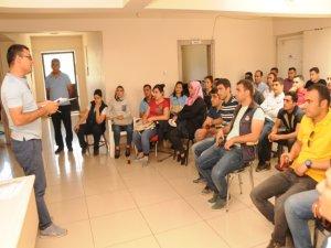 Zabıtaya hizmet içi eğitim semineri!