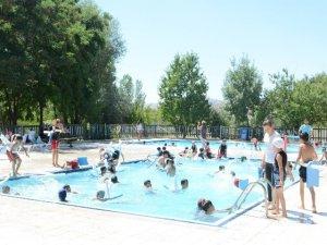 Çocukların eğlencesi , Yaz Kampı başladı