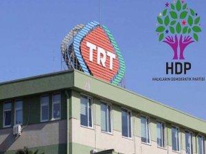 HDP'den TRT için suç duyurusu
