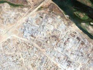 Musul'daki tahribat havadan çekilen fotoğraflarla ortaya çıktı