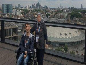 Google'dan burs alan ilk Türk engelli