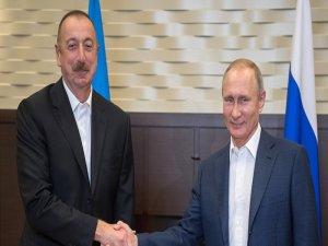 Aliyev ve Putin, Karabağ'ı görüştü