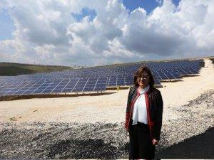 Gaziantep'in güneşi elektriğe dönüştü