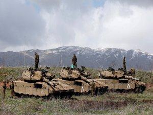 İsrail tankı, Gazze'de Hamas'a ait mevziyi vurdu