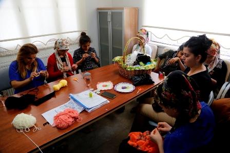 Cizre'de kadın merkezi açıldı