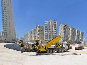 Mezopotamya Bulvarı'na 55 bin ton asfalt serilecek