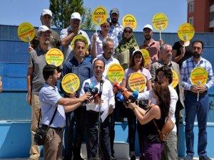 HDP'nin vicdan ve adalet nöbeti 3'ncü gününde