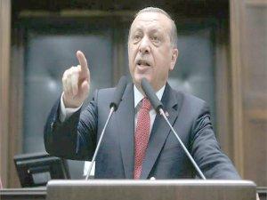 Erdoğan uyardı: Sızmalarına izin vermeyin.