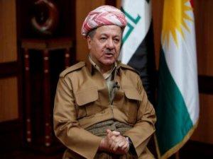 Barzani'den 'Kürdistan' açıklaması: Tek çözüm bağımsızlık