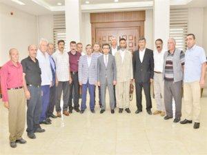 Koruculardan Vali Güzeloğlu'na ziyaret