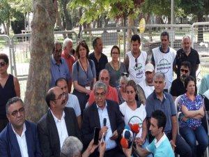 CHP heyeti Vicdan ve Adalet Nöbeti'nde