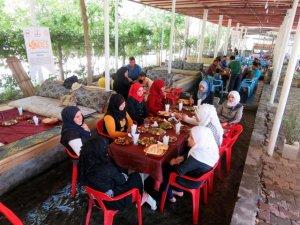 Suriyeli mülteciler için piknik düzenlendi