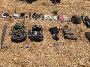 PKK'ye ait mühimmat ve malzeme ele geçirildi