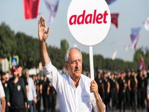 Kılıçdaroğlu: Ben 80 milyonun adalet itirazına cevap vermek için yürüdüm