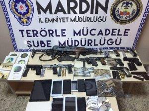 Mardin merkezli PKK operasyonunda 20 tutuklama
