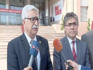 CHP'ye referandum ziyareti