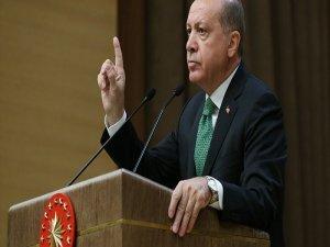Erdoğan: Sen Atatürk'ü atletle yemek yerken görüp de resim çektirdiğine şahit oldun mu?