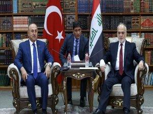 Çavuşoğlu, Bağdat'ta: Referandum kararının yanlış olduğunu defalarca söyledik