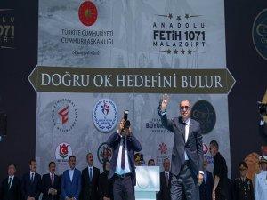 Erdoğan: Malazgirt Zaferi uzun zaman ihmal edildi