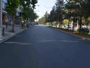 Elazığ Caddesi'nde asfalt çalışması tamamlandı