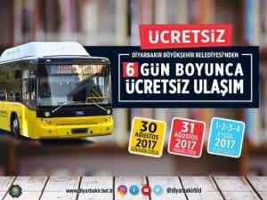 30 Ağustos Zafer Bayramı ve Kurban Bayramı'nda toplu ulaşım ücretsiz