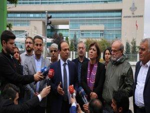 HDP Sözcüsü Baydemir: Hafta boyunca AYM önünde olacağız