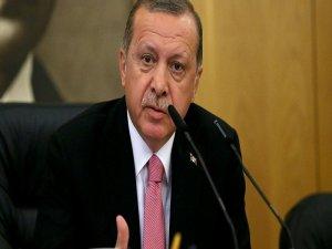 Erdoğan: ABD'nin Çağlayan adımı Türkiye'ye yönelik