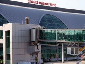 Diyarbakır Havalimanı'nın uçuş istatistikleri