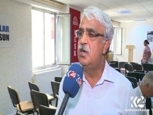 HDP'li Sancar: Referandum karşıtı bildiriyi DBP'ye sorun