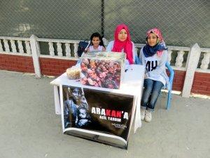 Midyatlı kız kardeşlerden Arakan için yardım kampanyası