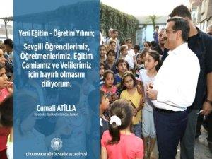 Atilla, öğrenciler ve öğretmenlere başarılar diledi