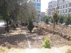 Meydan Parkı çalışmaları başladı