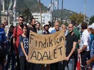 CHP'nin 'Fındık için adalet' yürüyüşü başladı