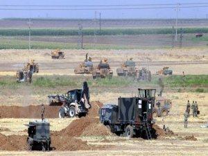 Irak sınırında tatbikat sürüyor