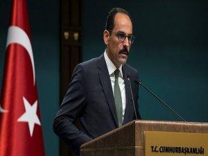 Cumhurbaşkanlığı Sözcüsü Kalın: Referandum iptal edilmese ciddi sonuçları olur