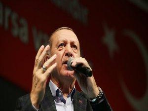 Erdoğan: Yastığın altında veya kolunuzdaki altınlar bize bir şey kazandırmaz