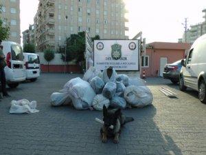 18 kilo eroin, 706 kilo esrar ele geçirildi