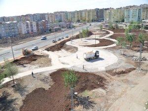 Belediyeden  Ahmed Arif Parkı