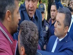 CHP'li vekillere Meclis bahçesinde polis müdahalesi