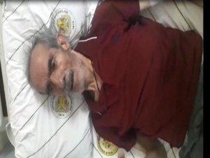 'Kanepeden düştü' denildi, kendine gelip 'Eşim dövdü' dedikten sonra öldü