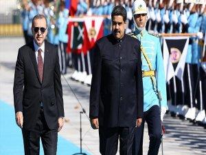 Venezüella Devlet Başkanı Maduro: Türkiye'ye geldik çünkü Türkiye'ye inanıyoruz