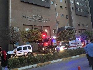 Diyarbakır'da hastanedeki yangın