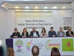 HDP, HDK, DTK ve DBP'den 'Öcalan' açıklaması
