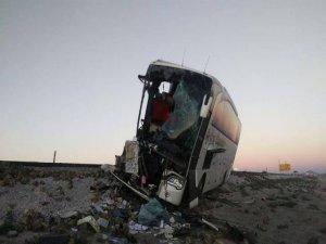 Diyarbakır firmasına ait araç kaza yaptı