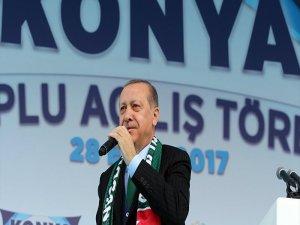 Erdoğan: Türkiye artık gücünün bilincinde bir ülke