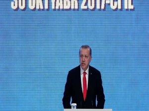 Erdoğan: Londra'dan Çin'e kesintisiz demiryolu bağlantısı kurulacak