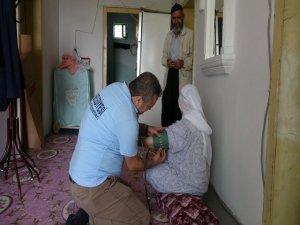 Yardıma muhtaç vatandaşlara hizmet