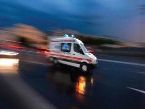 Halk otobüsü devrildi: 21 yaralı